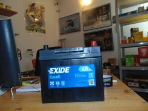 akumulator EXIDE EA456EXIDE EB454